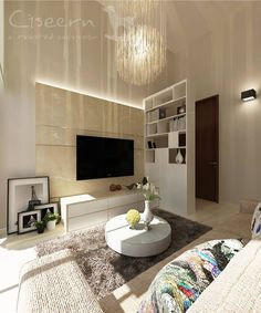 Contemporary Theme Interior Design by Ciseern - Interior Designer Singapore. #homedesign #interior #design #livingroom #singapore #condo