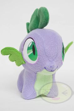 Chibi Spike MLP HandMade Custom Craft Plush by CutieCorral on Etsy, $75.00