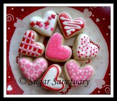 Royal Icing ideas...or just order them from the SugarSanctuary on @Etsy!