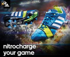 Buy Latest Listing Adidas Nitro Charge NC NitroCharge 1.0 TRX FG Blue Beauty/Running White/ElectricityItem Football Boots On Sale