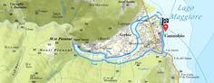 Percorso di CANNOBIO E L'ORRIDO DI SANT'ANNA - Percorso molto semplice in gran parte sulla rete di piste ciclabili lungo il torrente Cannobino