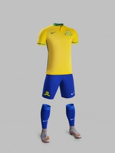 South Africa Loves Football: Sundowns new kit unveiled