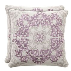 I pinned this Baroque & Roll Urbane Pillow - Set of 2 from the Villa Home event at Joss & Main!