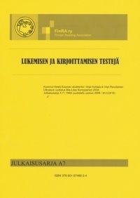 Lukemisen ja kirjoittamisen testejä, FinRA | Booky.fi