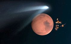 mars comet flyby | Mars probes A-OK after dramatic comet flyby – Astro Bob