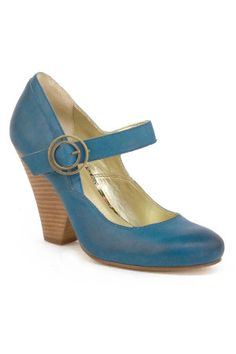 Seychelles I have a fondness for teal mary janes, with or without stacked heels.