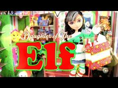 DIY - Custom Doll: Daughter of the Christmas Elf - Handmade - Crafts Christmas Barbie, Christmas Elf, Barbie Dolls, Barbie Stuff, Doll Stuff, Barbie Dream, Barbie Accessories, Fun Crafts For Kids, Doll Crafts