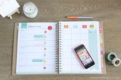The only thing standing between everyday chaos and a streamlined, well-organized life are these five organizational tools. Learn how to set goals, stay on top of your to-do's, come in under budget, and keep your life on track and running smoothly!