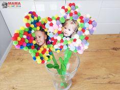 4 pomysły na prezenty na Dzień Mamy - DIY dla dzieci - Mama Kreatywna Techno, Cards, Baby, Handmade, Hand Made, Maps, Baby Humor, Techno Music, Infant