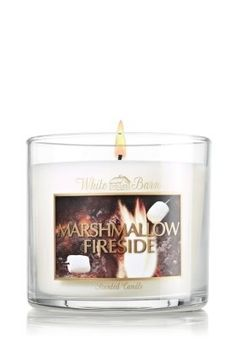 White Barn 4 Oz. Small Candle Marshmallow Fireside >>> Read more at the image link.