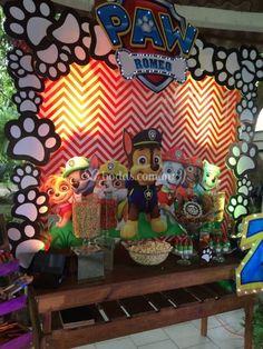 Fiesta tematica pawpatrol de Mia Details   Foto 16 Paw Patrol Party Decorations, Birthday Decorations, 4th Birthday Parties, Boy Birthday, Paw Patrol Rocky, Paw Patrol Birthday, Crafts, Ideas, Cool Ideas