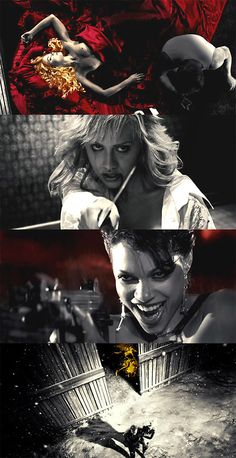 Sin City, 2005 (dir. Frank Miller, Robert Rodriguez & Quentin Tarantino)
