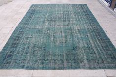 Over-dyed Vintage Rug 8.2 X 11.3 FT ( 250 X 345 CM )  by galleryboga on Etsy https://www.etsy.com/listing/236448036/over-dyed-vintage-rug-82-x-113-ft-250-x