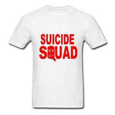 Men's Suicide Squad tee on sale at BenniRivers.com #suicidesquad #Menstyle #menfashion #Men #tshirts #tshirts #mentshirst #willsmith #jaredleto #DcComics