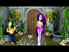 How to Make a Doll School: Courtyard | Plus Custom MLP Flash Sentry - YouTube