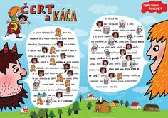 SYLVA FRANCOVÁ: Kreslené pohádky Activity Board, Projects For Kids, Storytelling, Fairy Tales, Preschool, Language, Classroom, Activities, Education