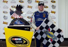 NASCAR's 12 active winning Cup Series teams  -  April 14, 2017:     FRONT ROW MOTORSPORTS, 2  -    Front Row went 1-2 at Talladega in May 2013, with David Ragan leading David Gilliland to the checkered flag. They won again last summer when Chris Buescher gambled and stayed out while the leaders pitted in a rain-shortened race at Pocono.