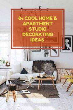 8+ Cool Home & Apartment Studio Decorating Ideas For Best Inspirati #apartmentstudiodecoratingideas Small Studio Apartments, Studio Apartment Design, Studio Decorating, Decorating Ideas, Home Goods, Cool Stuff, Inspiration, Home Decor, Biblical Inspiration