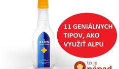 Nechýba hádam v žiadnej domácnosti. Hot Sauce Bottles, Vodka Bottle, Wd 40, Nordic Interior, Herbal Remedies, Spray Bottle, Good To Know, How To Stay Healthy, Cleaning Hacks