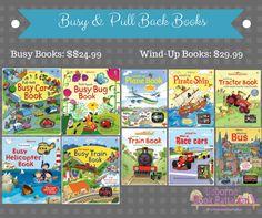 usborne pull back and wind up books are wonderful gifts! Usbornebookbattalion.com Find me on Facebook, youtube, & instagram @usbornebookbattalion
