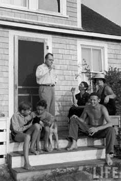 jackson pollock & friends:  my kinda family portrait