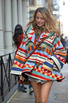 Blake Lively | She has such an interesting style