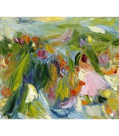 Blooms in an Irish Window by Artist Vera Gaffney January 2018, Limited Edition Prints, Irish, Bloom, Framed Prints, Window, Flowers, Painting, Inspiration
