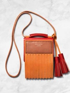 Acne - Laurie bag in red