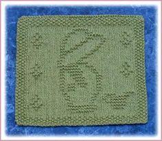 Little Garden Boy Free Knit Dishcloth Pattern