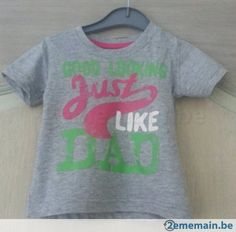 T-shirt gris taille 9-12 mois neuf - A vendre