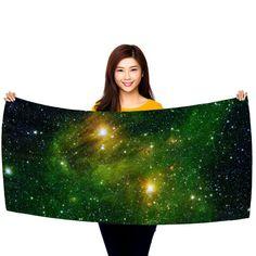 "Hydrocarbons In Space 30"" x 60"" Microfiber Beach Towel"