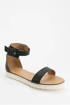 Deena & Ozzy Ankle-Strap Flatform Sandal