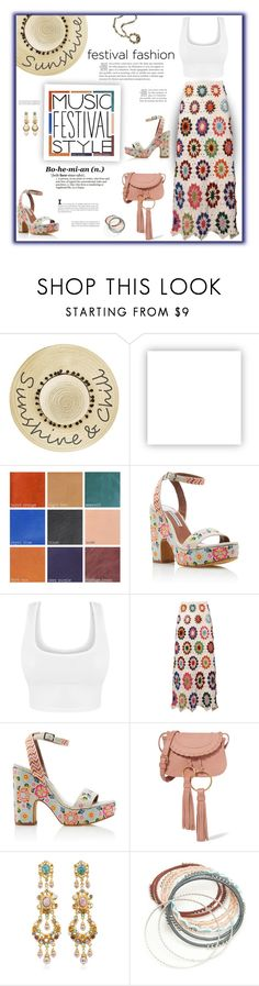 """""""Festival Style"""" by fassionista ❤ liked on Polyvore featuring Betsey Johnson, Olsenboye, Tabitha Simmons, See by Chloé, Ben-Amun, Red Camel, Sweet Romance, festival, fashionset and festivalfashion"""