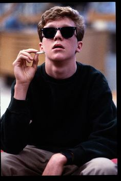 "The Breakfast Club. Defined what it was to be a kid in high school in the 80's. ""The chic cannot hold a smoke, that's what it is."" Loved everything about this movie."