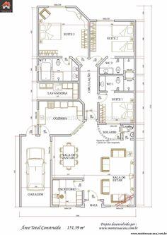 Casa 0 Quartos - 151.39m²
