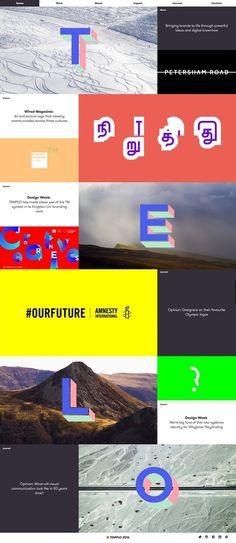 Templo branding and digital agency from UK webdesign inspiration design blog mindsparkle mag in Websites We Love