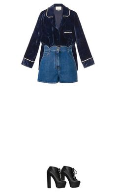 """Untitled #180"" by afivahapriani on Polyvore featuring Gucci and Valentino"