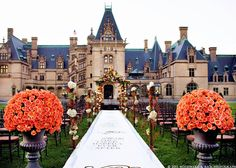 biltmore house is one of the wedding locations in asheville and the north carolina mountains