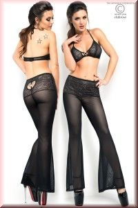 Dessous-Set Top + Hose + String