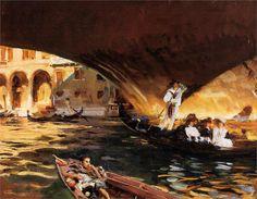 John Singer Sargent  The Rialto, Venice, 1909