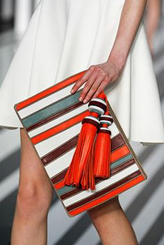 The Crazy Belvedere Clutch at the Anya Hindmarch #AW14 #LFW show, Counter Culture