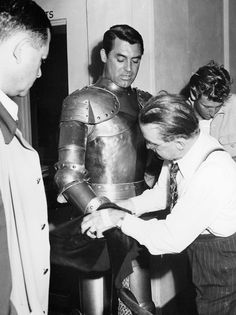 "Cary Grant in his ""Knight in Shining Armour"" costume from ""The Bachelor and the Bobby Soxer"" (1947)"