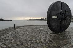 """La Rochelle - """"Le Soleil Noir"""" by Fabrice Denis on 500px Hommage à Michel Crépeau à l'entrée du Vieux-Port de La Rochelle."""