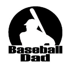 Red 'Baseball Dad' Car Decal by Bay Wear Car Window Decals, Car Decals, Vinyl Decals, Window Wall, Reds Baseball, Baseball Shirts, Personalized T Shirts, Heat Transfer, Cricut