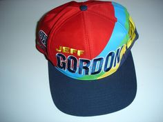 Trucker Hats Caps Men s Hat Jeff Gordon 24 Snapback One Size Nascar Racing  Driver Daytona 500 ae070368c694