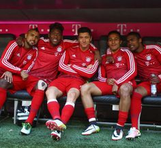 Bench Squad.  Vidal, Alaba, Lewandowski, Alcantara, and Costa.  Not a bad bench…