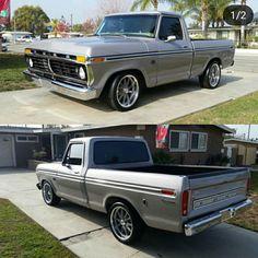Custom Ford Trucks, Vintage Pickup Trucks, Classic Ford Trucks, Old Ford Trucks, Small Trucks, Trucks And Girls, Ford Lightning, F100 Truck, 1979 Ford Truck