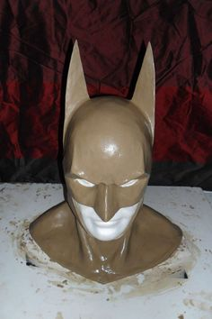 make your own Batman Cowl (Or Batgirl, in my case.)