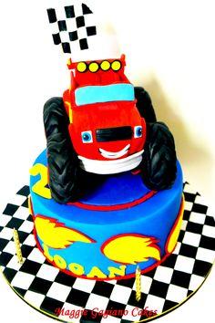Blaze and the Monster Machines Cake; Blaze Cake