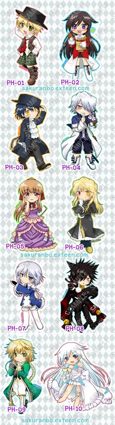 cast of characters pandora heart >w<!!!! : Dek-D.com - Writer Oz, Alice, Gilbert, Break, Sharon, Vincent, Echo, Cheshire Cat, Jack, and the Will of the Abyss